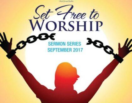 September Sermon Series