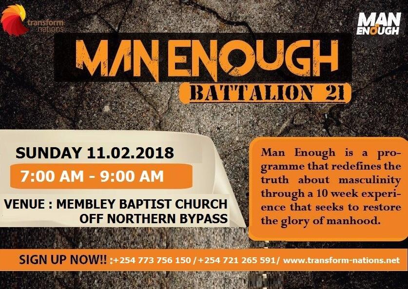 Man Enough Battalion - 21 Launch